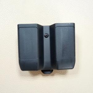 Double Stack Magazine Pouch Case Universal Pistol Mag Box for Colt 1911, Beretta m92 m9 , Sig P226, HK USP ,Glock 17 19