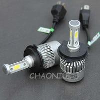 Dianshi оптовая продажа H4 автомобиля светодио дный фар авто H4 9004 9007 H13 H11 36 Вт 6500 К H1 H3 H7 9005 9006 hb3 hb4 светодио дный налобный фонарь