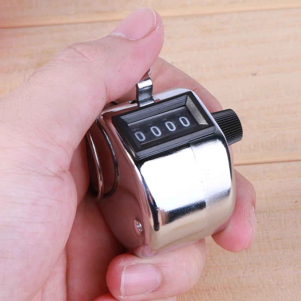 Mini Contador de conteo digital de mano Número de 4 dígitos Manual - Instrumentos de medición - foto 3