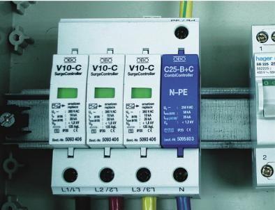 10-20KA V10-C/3 + NPE parafudr ~ 385 V AC10-20KA V10-C/3 + NPE parafudr ~ 385 V AC