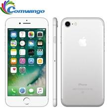 원래 잠금 해제 애플 아이폰 7 LTE 32/128GB/256GB IOS 10 12.0MP 4G 카메라 쿼드 코어 지문 12MP 2910mA iphone7 휴대 전화