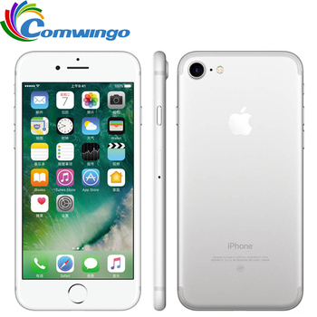 Original Unlocked Apple iPhone 7 LTE 32/128GB/256GB IOS 10 12.0MP 4G Camera Quad-Core Fingerprint 12MP 2910mA iphone7 Cell Phone 10 1 inch official original 4g lte phone call google android 7 0 mt6797 10 core ips tablet wifi 6gb 128gb metal tablet pc