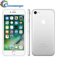 Oryginalny odblokowany Apple iphone 7 LTE 32/128 GB/256 GB w urządzeniach z systemem IOS 10 12.0MP 4G kamery Quad-Core linii papilarnych 12MP 2910mA iphone 7 telefon komórkowy