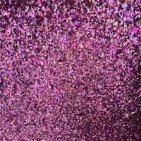 Synthetic PVC Chunky Glitter Leather Fabric For Shoes Material Sale By Yard 91CM 137CM