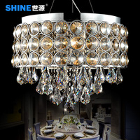 Modern Minimalist LED Crystal Lamp Crystal Chandelier Lamp Lighting Study Bedroom Luxury Restaurant Lighting 7332