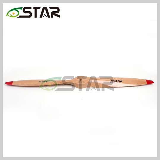 Standard Wooden Propeller/ Beech Propeller 34*10 34x10 for RC Gasoline/ Petrol Airplane for 222CC Gasoline Engine