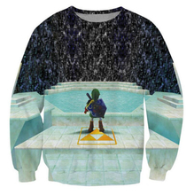 Funny Autumn Fashion Men/Womens Sweatshirts 3D Print Legend of Zelda Great Fairy Fountain Sweatshirt Pullovers Plus S-5XL R1815