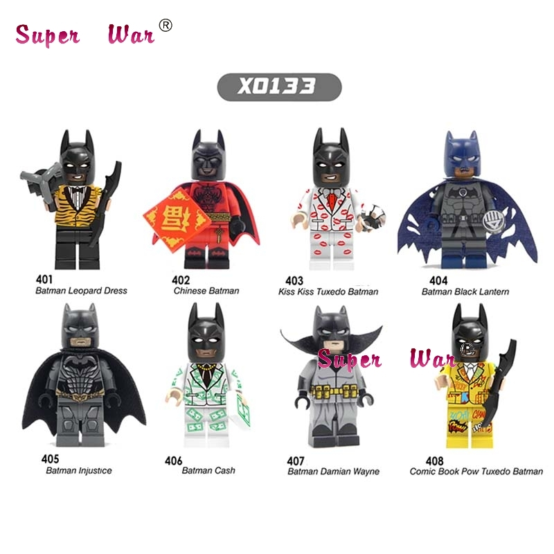 Precise 8pcs Star Wars Super Heroes Batman Harley Quinn Series Season Building Blocks Model Bricks Toys For Children Preventing Hairs From Graying And Helpful To Retain Complexion Model Building Blocks