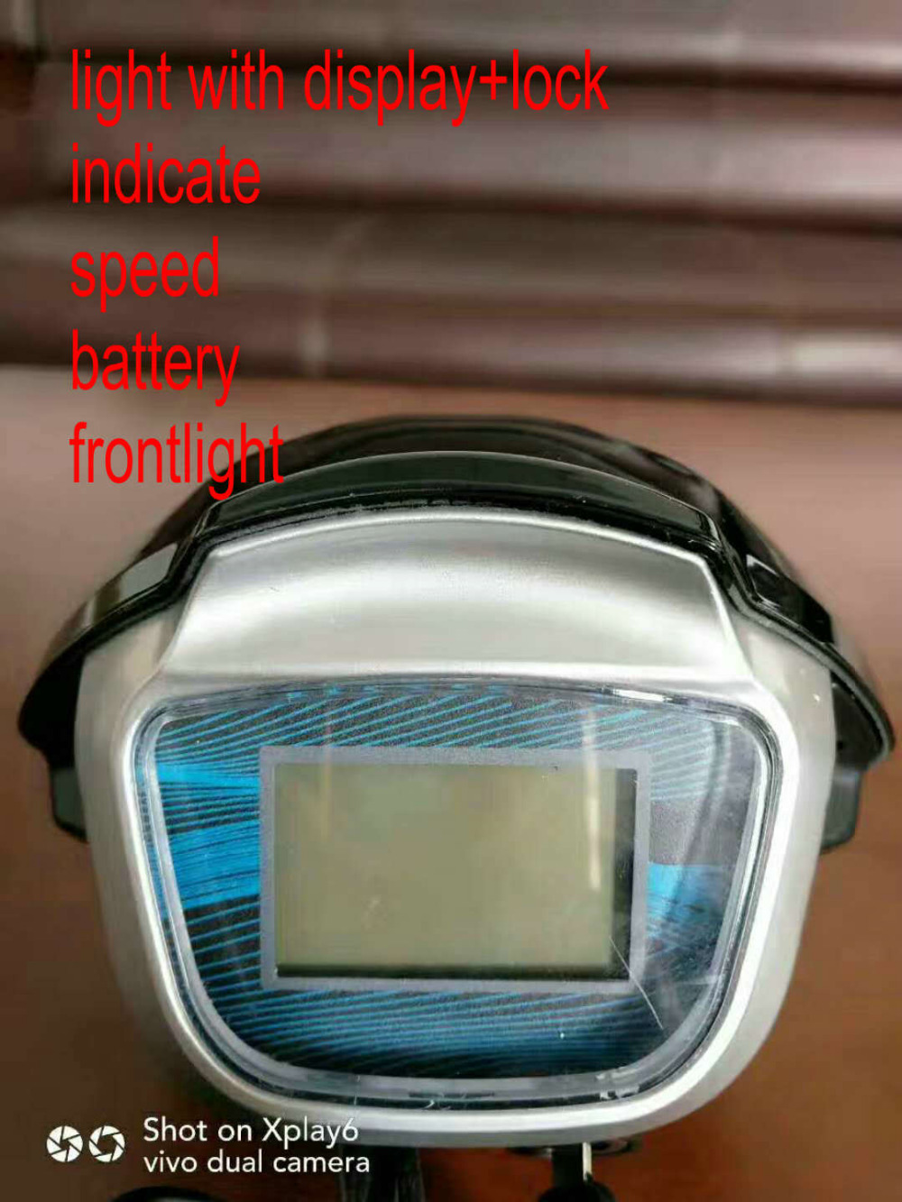 harley scooter light 60v blue tooth_20181204144614