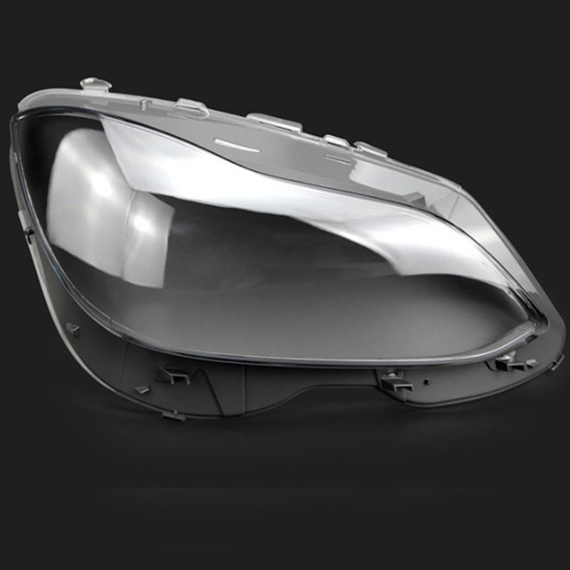 Front headlights headlights glass mask lamp cover transparent shell lamp masks For Mercedes Benz W212 2014