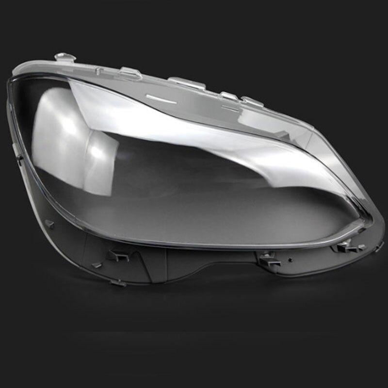 Koplampen koplampen glazen masker lamp cover transparante shell lamp maskers Voor Mercedes-Benz W212 2014-2015