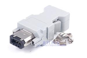Image 5 - 5 uds hombre mujer IEEE 1394 6 pin enchufe SM 6E SM 6P Servo conector Cruz 55100 0670 54280 0609 de alambre de soldadura