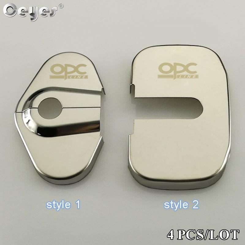 Ceyes Auto Door Lock Cover Car Styling Case For Opel Opc Line Logo Insignia Antara Mokka Zafira Corsa Vectra D Badge Accessories