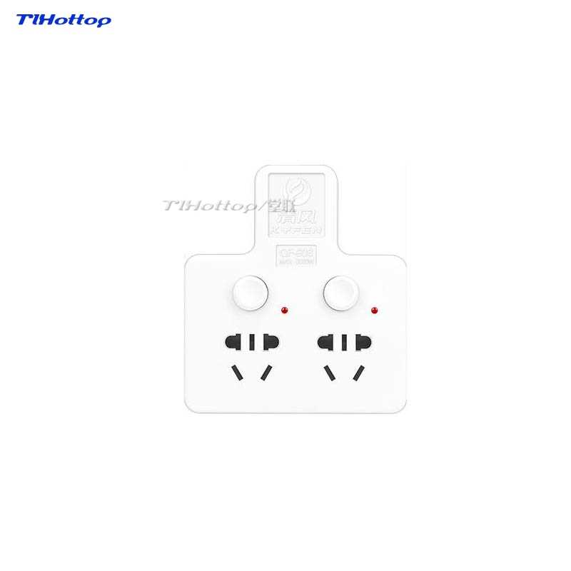 3 in1 białe ściany 3Pin zasilania AC ładowarka Adapter konwerter gniazdo z przełącznikiem, 1 sztuk