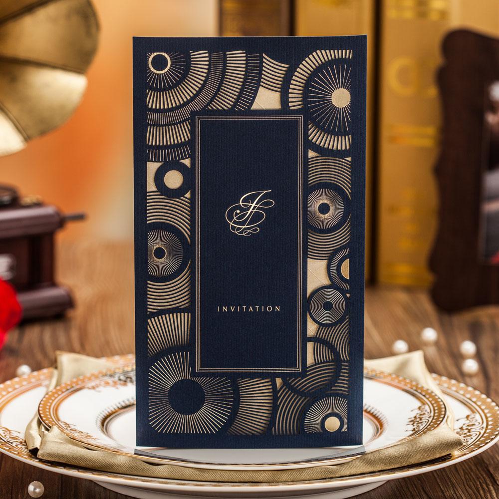 de boda azul marino tarjetas de invitacin de la boda del novio