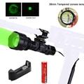 T6 светодиодный тактический фонарь для Huting Gun  масштабируемый регулируемый фокус  кронштейн для винтовки  фонарь + 18650 + зарядное устройство + ...