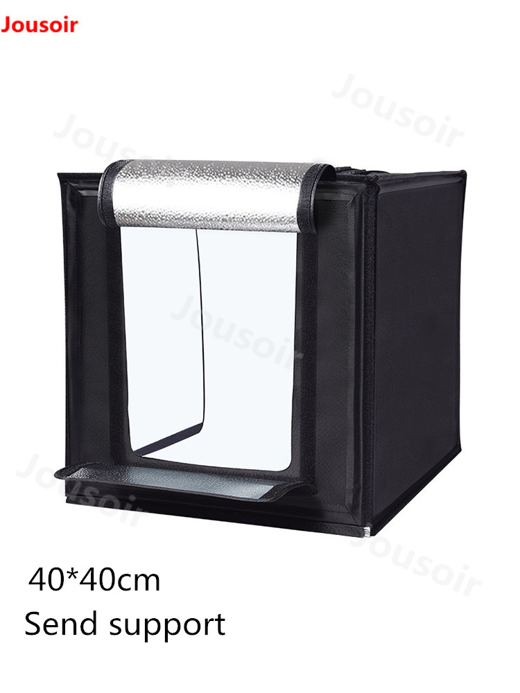 40cm Mini Photo Studio Light Box Tent  Professional Studio LED photo light box still shooting table Softbox prop Set CD50 T0640cm Mini Photo Studio Light Box Tent  Professional Studio LED photo light box still shooting table Softbox prop Set CD50 T06