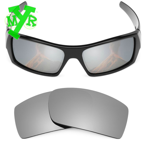 5e2b518254 Mry 24 K oro y plata titanio 2 par polarizadas lentes de reemplazo para OAKLEY  gafas de sol GASCAN marco en Disfraces de cine de La novedad y de uso ...