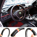 Sport Carbon Car Steering Wheel Cover Auto Interior Steering Covers Case Handlebar Accessories