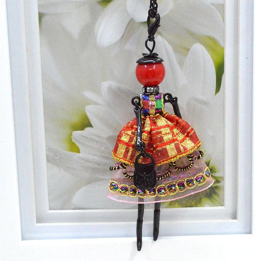 Nyaste ankomst mode docka halsband smycken försäljning härlig - Märkessmycken - Foto 3