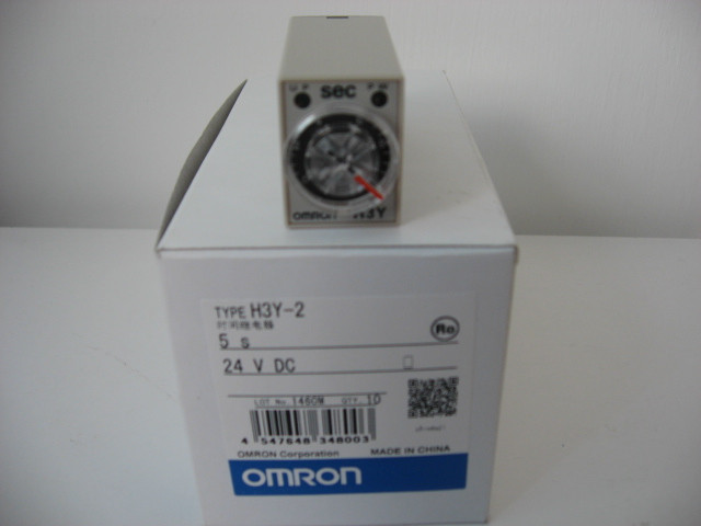 [ZOB] New original OMRON Omron time relay H3Y-2 5S DC24V 8 feet timer --5PCS/LOT dhl ems 5 lots new om ron timer relay h3dk m1 h3dkm1 24 240vac dc e1