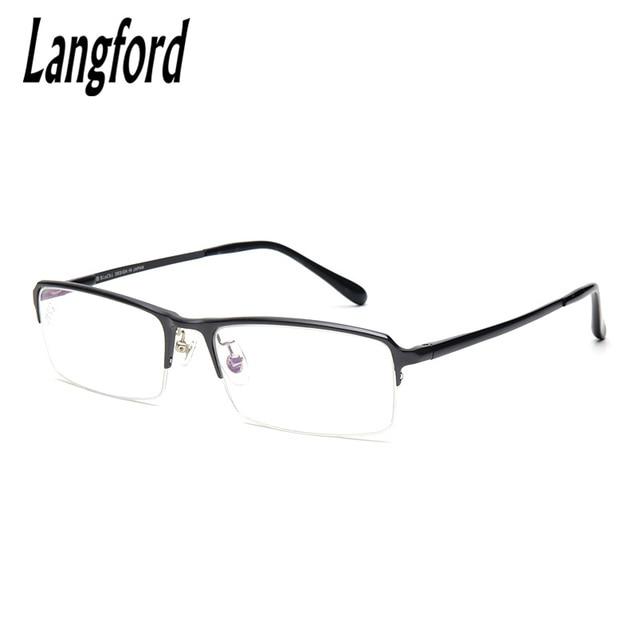 langford brand Business glasses simple men\'s glasses frame half ...