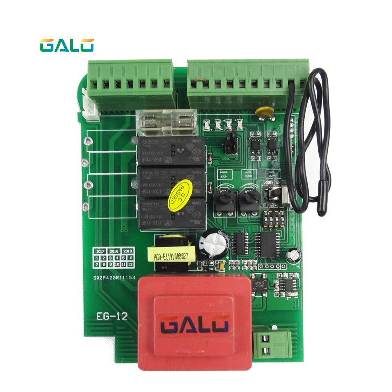 Image 4 - Sliding gate opener motor control unit PCB controller circuit board electronic card for KMP series-in Access Control Kits from Security & Protection