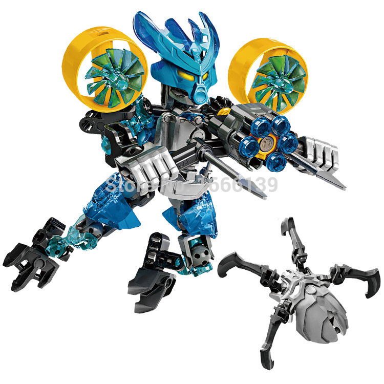 2016 new Bionicle protecter of water XZS 706-3 Minifigure Building Block Toys Action Figure Compatible With Lego