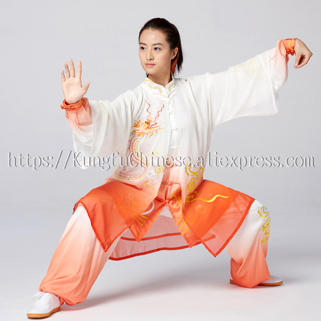 Chinese Tai chi uniform Martial arts clothes taiji garment kungfu outfit  for women men children girl boy kids adults