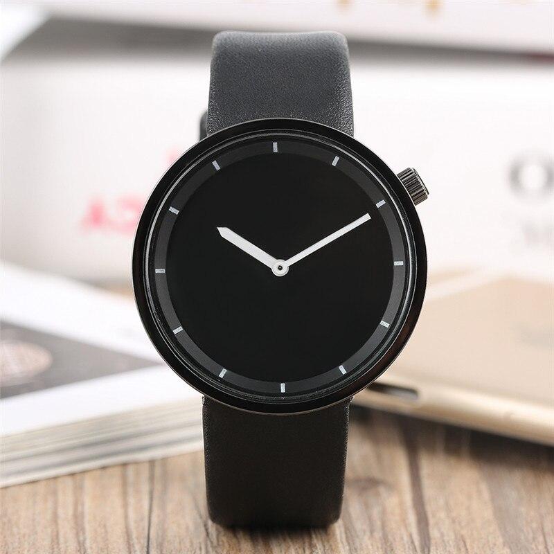 بسيط أزياء الرجال النساء ووتش reloj femenino - ساعات رجالية