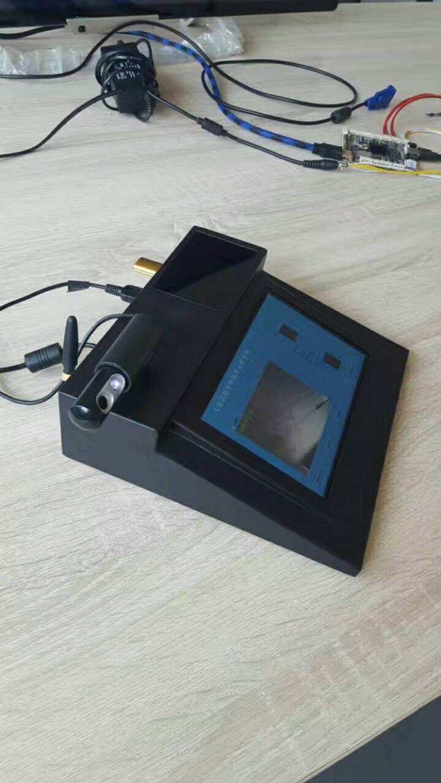 Индуктивная карта электронная посещаемость биометрическая запись времени с функцией распознавания лица/отпечатков пальцев ЖК дисплей hd с