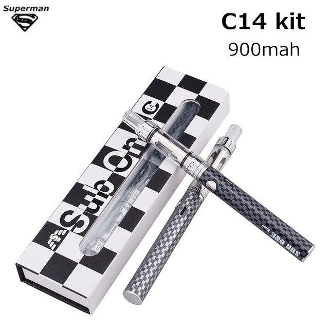 SUB one C14 Sub one kit E cigarette 1 5 ohm Ceramic Coil Electronic cigarette vape