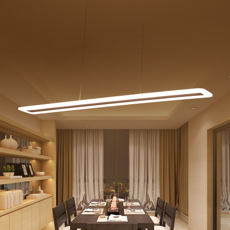 Length 40-120cm Modern LED Chandeliers for dining Kitchen room bar hanglamp suspension luminaire chandelier lighting lustre ledLength 40-120cm Modern LED Chandeliers for dining Kitchen room bar hanglamp suspension luminaire chandelier lighting lustre led