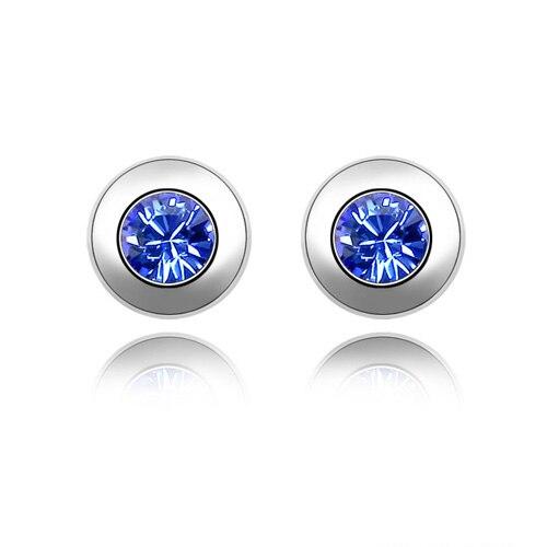11 Farben Made Mit Österreich Elemente Gold Farbe Kristall Stud Ohrringe Für Frauen Neue Verkauf Heißer #82336