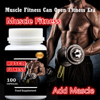 2 bottle 200pcs,Muscle Fitness Fast and Easy Add Muscle and Weight Gainer,Whey Protein + Creatine,Amazing Effect and Price