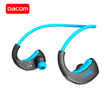 DACOM G06 беспроводные наушники bluetooth-наушники для спорта IPX5 Водонепроницаемая стереогарнитура с шейным ремешком остроумный микрофон для iPhone samsung