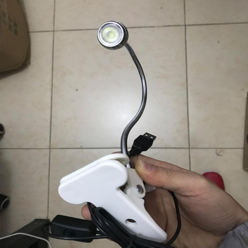 Ingelon USB Light Laptop Lampop Lamp Gadget Clip Flxtures - Համակարգչային արտաքին սարքեր - Լուսանկար 5