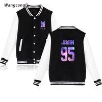 2018 BTS New Starry Sky Kpop Baseball Jacket Women Men Outwear Coat Kpop Winter Casual Jacket