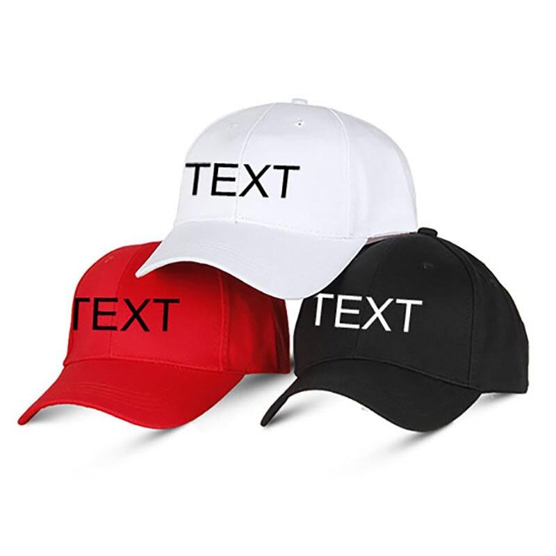 Personalizado Chapéu de Basebol Tampão Do Esporte Outono Bordado Logotipo Personalizado Escolher Sua Cotação Projeto do Nome do Estilo de Texto Cor Da Linha