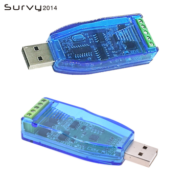 Industrial USB To RS485 Converter Upgrade Protection RS485 Converter Compatibility V2.0 Standard RS-485 A Connector Board Module industrial equipment board mbpc 400 1394 pcm 3620 rev a1 converter board