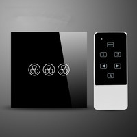 UK EU Standard Fan Speed Switch And Control Remote Control Fan Controller With Switch For Ceiling