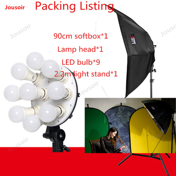 LED Photography lamp Light video camera continuous light portrait like wedding children's products shooting nine lights CD50 T03