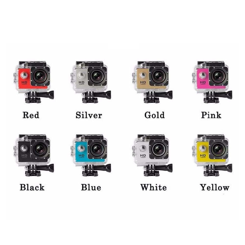 1080P Full HD Outdoor Sports Mini Camera Waterproof Cam DV Screen Color Waterproof Helmet Video Surveillance