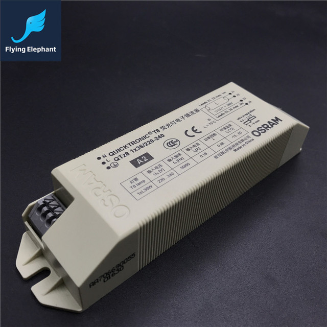 QTZ8 1X36W T8 Fluorescent Lamp Electronic Ballast For I Type lamps ...