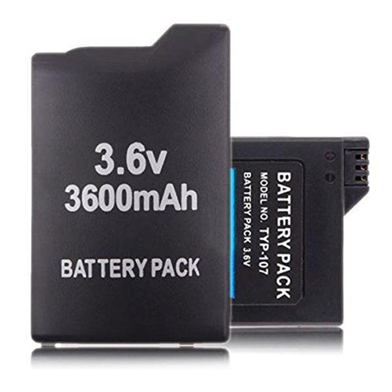 GTF Details about  Extra Long 3.6V 3600mAh Lithium Rechargeale Battery for Electronic PSP 1000 1001 NEW