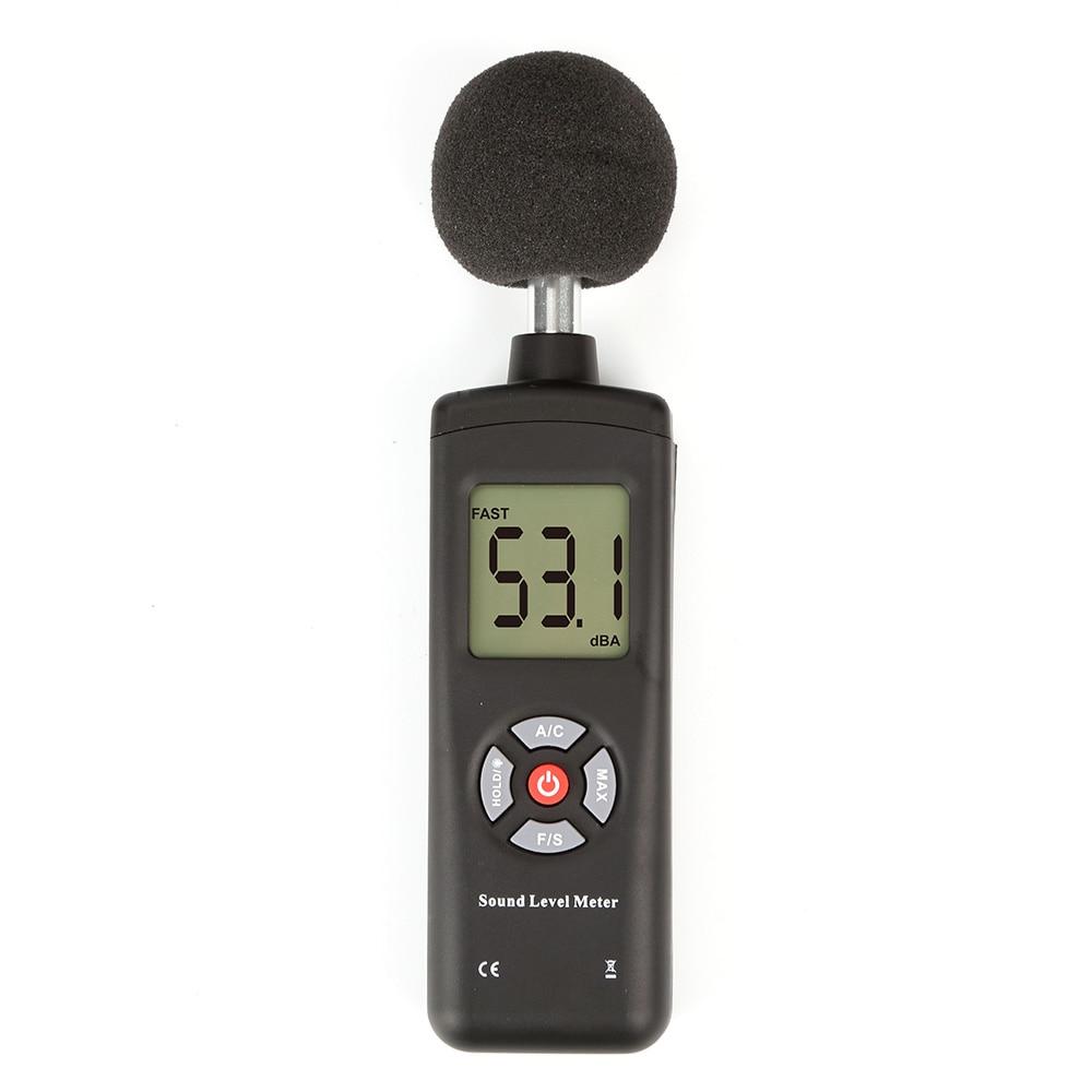 New TL-201 Digital Sound Pressure tester Level Meter Decibel Noise Measurement 30~130dB 1 unit of digital sound pressure level meter 30 130 db decibel noise measurement