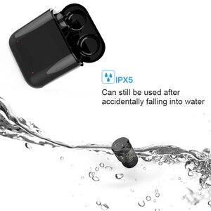Image 2 - DOOLNNG T 1 Chống Nước Thể Thao Bluetooth Tai Nghe 5.0 TWS Không Dây Mini Vô Hình Cảm Ứng Điều Khiển Tai Nghe Cho
