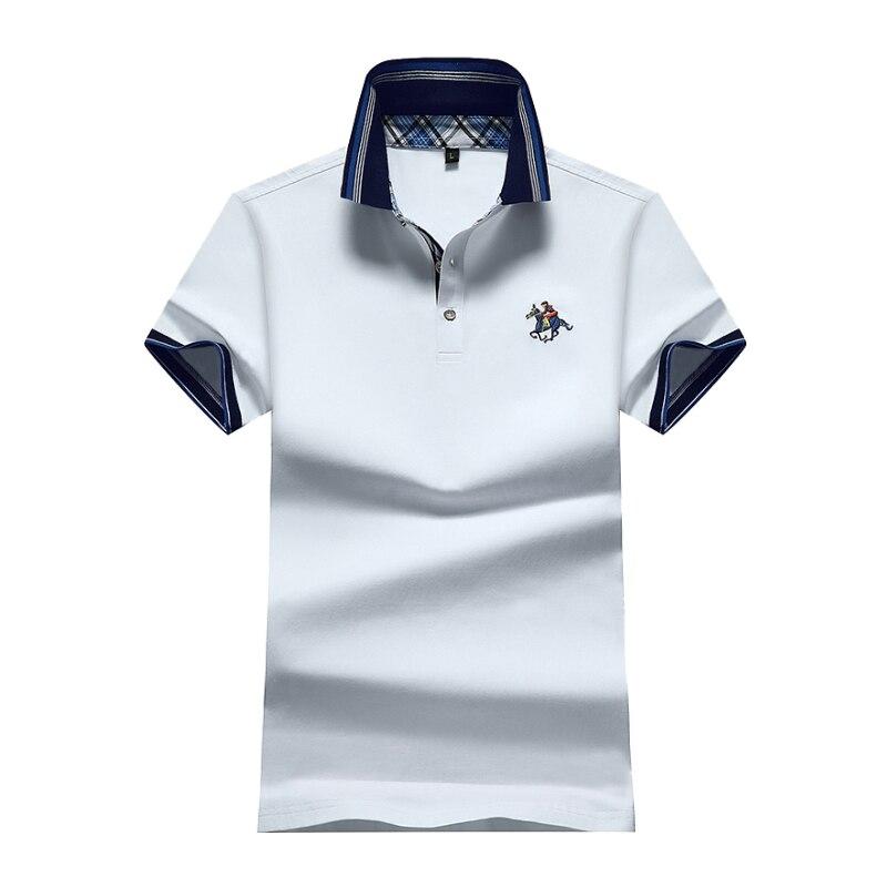 AIRGRACIAS 6 Mens Marcas Camisa Pólo de Cor Sólida Casuais Camisas Polo  Roupas de Marca Ralphmen Poloshirt Manga Curta Verão M 4XL em Polo de Dos homens  de ... 466da7a6a8b74