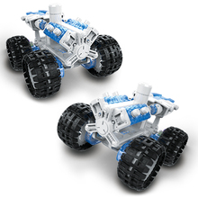 DIY Salt Water Powered Space Adventure Climbing Vehicle Assembly Kit Blocks Technic Bricks Sets Educational Toys For Child Gifts