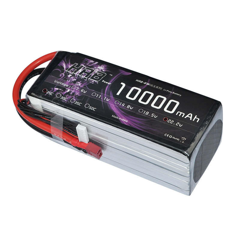 6S 22.2V 25C Batterie 10000Ah Akku Deans for RC Auto Drohne Hubschrauber Hobby